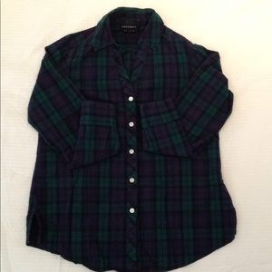 Plaid Foxcroft Button Down